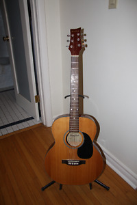Beaver Creek guitar, 3/4 size.