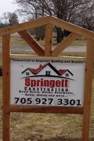 Springett Construction. Committed to superior quality and result