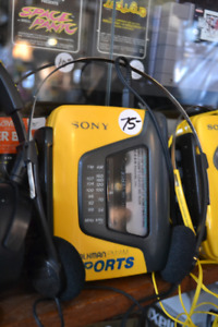 SONY WALK MANS! WORK PERFECT ALL RECONDITIONED w/ NEW BELTS