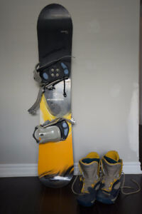 Rossignol Nomad 2 Snowboard and Boots