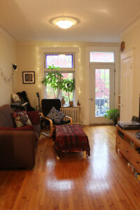 Beautiful, spacious, charming 4 1/2 in the Plateau (for Jan. 1)