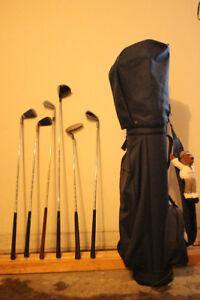 Bâtons de golf + sac