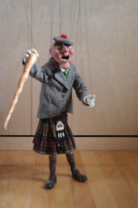 Vintage Marionette:: Scottish Gentleman