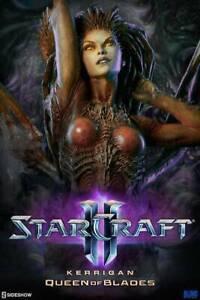 SIDESHOW COLLECTIBLES STARCRAFT II KERRIGAN QUEEN OF BLADES STATUE