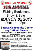 TRENTON KINSMEN FISHING SHOW AND SALE