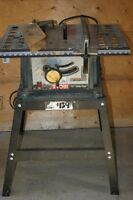 tablesaw with stand