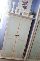 Small Shabby chic Antique Armoire.