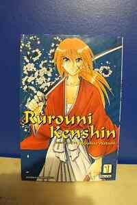 Vol. 1 (3-in-1) of Rurourni Kenshin