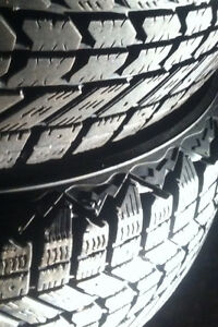 FOUR. 235/65/17. WINTERFORCE TIRES.  $140.