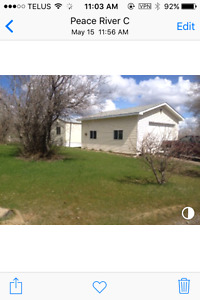 Home & Shop on 1 acre in Charlie Lake