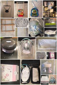 Baby Items. All new or very good gently used condition.