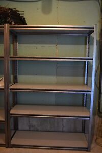 4 heavy duty shelving units perfect for garage or shed Kawartha Lakes Peterborough Area image 2