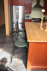3 Amisco Counter Height Stools