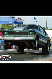 Turn key drag car