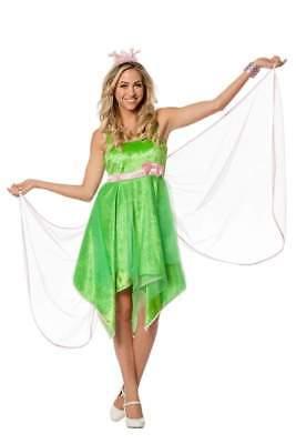 Feen Fee Elfe Tinkerbell Märchen Kostüm Kleid Elfen Damen Waldfee - Tinkerbell Feen Kostüm