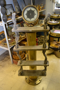 NAUTICAL GREAT LAKES SHIP JACOBS ROPE LADDER