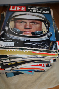 TIME LIFE MAGAZINES - 60s and 70s Lot of +60 magazines