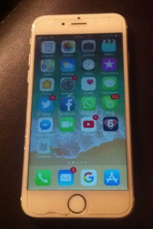 iPhone 6 Unlocked Rose Gold