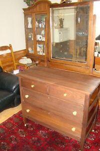 4 drawer solid wood anitque dresser....just reduced to $120