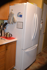 Three Door Refrigerator 23 Cu in.
