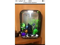 Fish tank biorb 15litre tropical tank with lied light and biorb pump and heater boxed