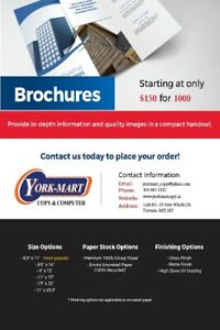 Save up 50% on Commercial printing @ York University