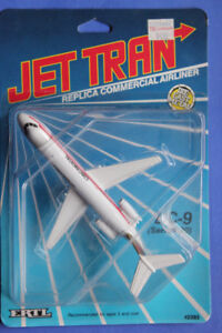 ERTL CONTINENTAL DC-9  (VIEW OTHER ADS)