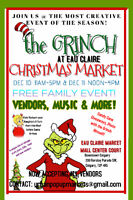 The Grinch at Eau Claire Christmas Market