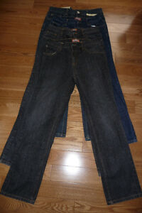 4 Pairs Size 14 Husky Jeans
