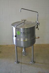 25 Gallon Steam Jacketed Cleveland Kettle