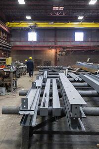 Structural Steel Fabrication & Steel Pipe Bollards