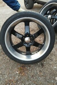 BOSS RIMS WITH TIRES