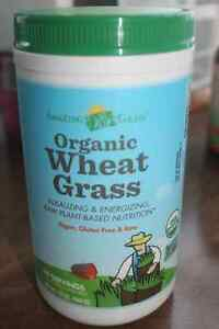ORGANIC WHEAT GRASS (60 servings) (Expiry 10/17)