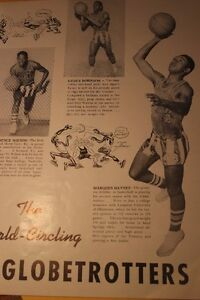 1952-53 Harlem Globetrotters Program (VIEW OTHER ADS) Kitchener / Waterloo Kitchener Area image 7