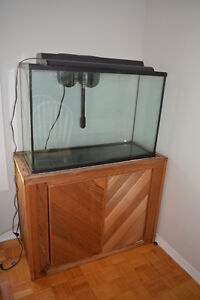 45 Gallon Aquarium and Accessories