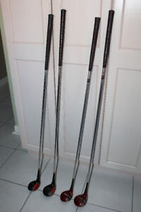 GOLF CLUBS, RIGHT HANDED, WOODS #1, 3