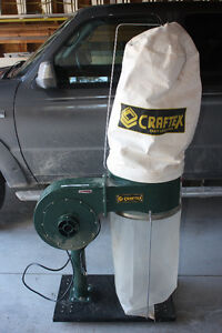 Craftex Dust Collector and Fittings