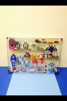 Transformers super heroes. Display case. Wall mountable.