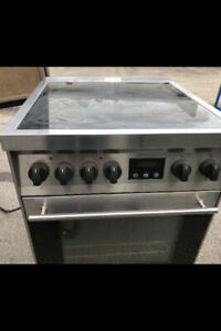 24''Apartment Size Stainless Steel Stove..$150.00...647 970 1612