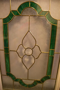 Stained & Frosted Glass EXTERIOR DOOR INSERT Window London Ontario image 1