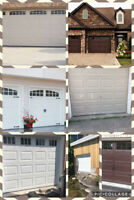 AJ Garage Doors / looking for a quote for a new garage door ?