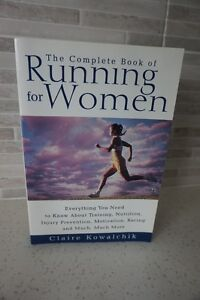 SOFT COVER BOOK ON THE COMPLETE BOOK OF RUNNING for WOMEN