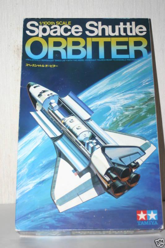 Space Shuttle ORBITER 1/100 TAMIYA JAPAN