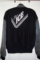 SIZE LARGE BLACK ICE DESIGNER JACKET