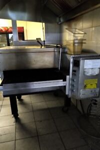 Commercial Pizza Ovens and Walk In Cooler For Sale