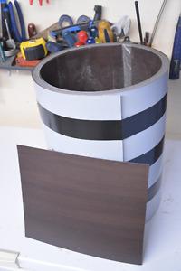 Harrywood Rouleau acier couleur bois torréfié