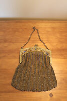 Old Antique Beaded Purse/Evening Bag
