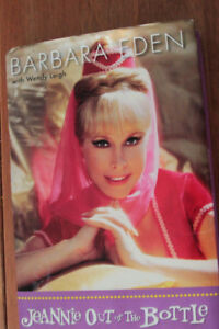 """""""Jeannie Out of the Bottle""""  Autobiography of Barbara Eden Book"""