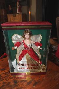 Holiday Angel Barbie 2nd in Series - NRFB London Ontario image 1