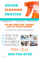 House & Apartment cleaning White Rock.Langley